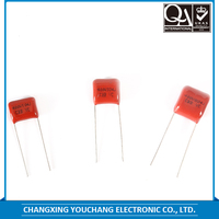Small size 400V 104J thin-film capacitor metallized polypropylene film