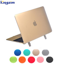 Custom hard laptop shell for macbook air case 11 12 13 with stand