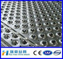 superior quality aluminium perforated metal sheet/ aluminium perforated plate