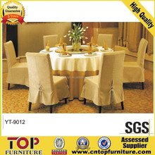 Polyester chair covers for wedding,skirting chair cover