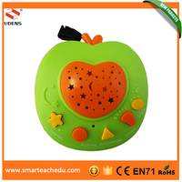 Chinese Electronic Baby Language Learning Educational Toys, Apple Story Teller With Variety Functions
