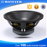 "15TBX300 100mm/ 4.0"" voice coil 600w hot sale bass speaker pa active 15 inch spl subwoofer"
