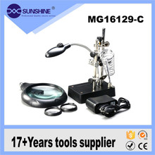 Factory price 3 in 1 10x mobile repair magnifying glass prices for PCB inspection