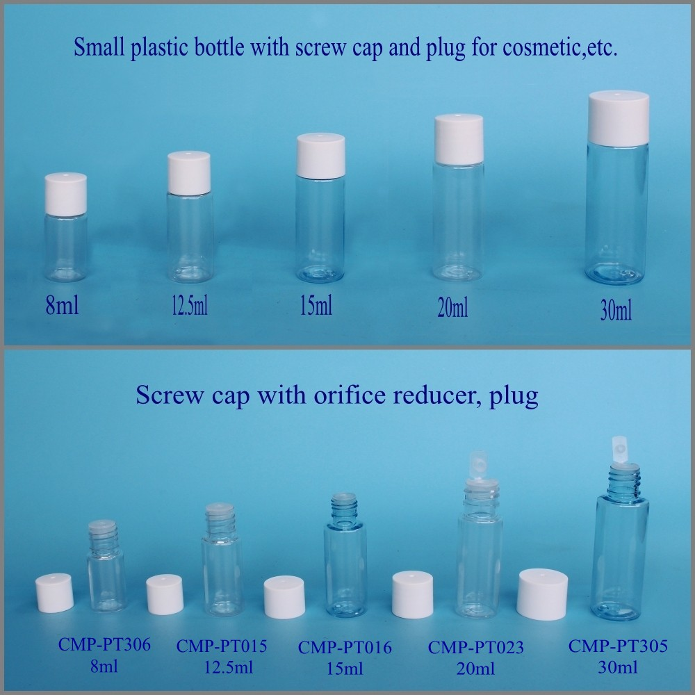 empty 10ml 30ml 50ml 100ml 200ml 500ml 1000ml Plastic Bottle for cosmetic packaging