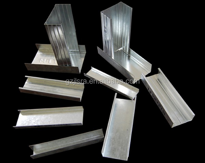 Good sell gi stud track channel /light weight steel /building material for construction/corner bead / joist /metal ceiling.