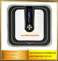 200KG LCD Digital Voice body weighing Scale
