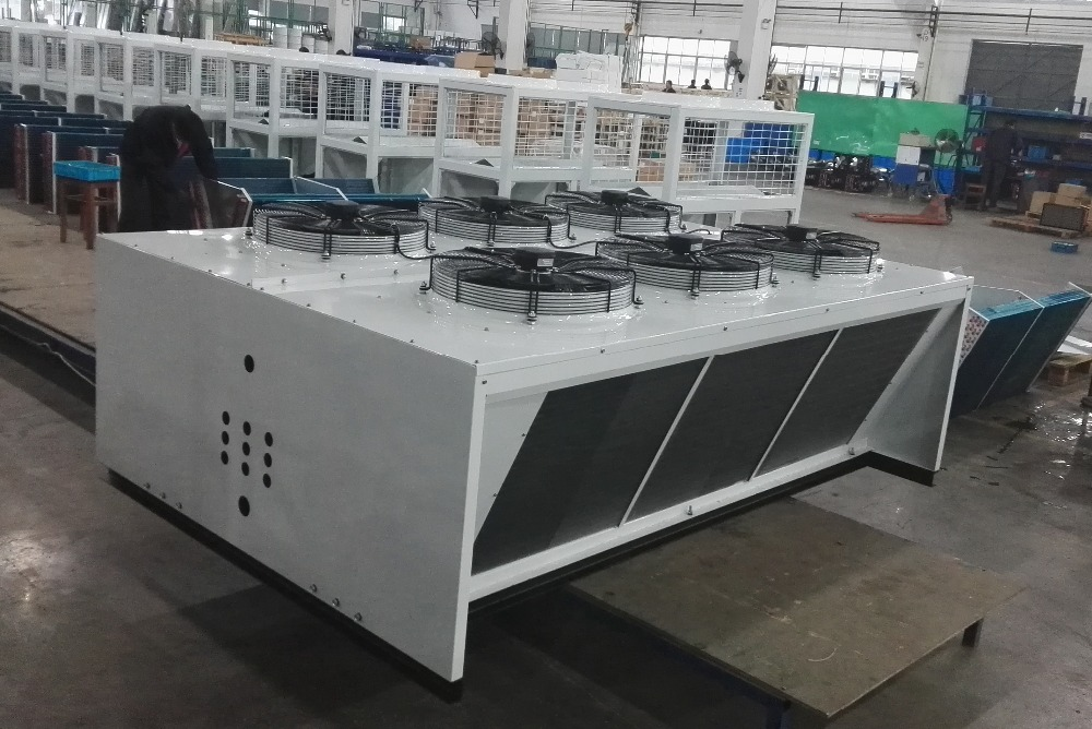 FNWK series air cooled condenser with axial fan, fitting for cold storage room condensing units