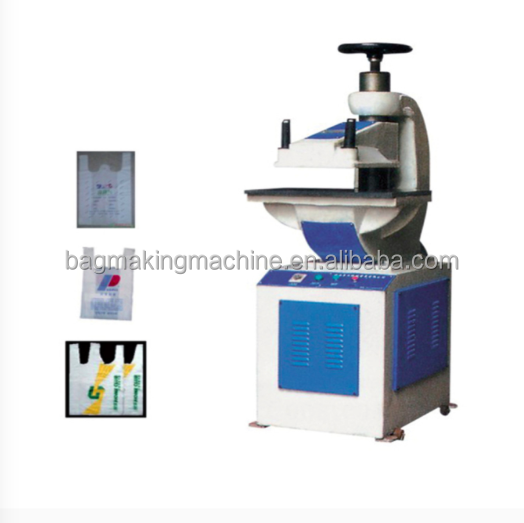 T-shirt Bag Handle Hydraulic Punching Machine/plastic hydraulic punching machine with from WENZHOU