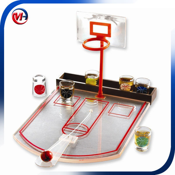 mini basketball table game/drinking game