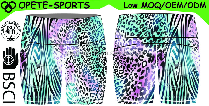 (OEM ODM FACTORY)Wholesale stretch compression tights booty women running shorts