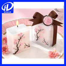 Factory directly sale the square of the titonin paint candle,led candle,candle wax