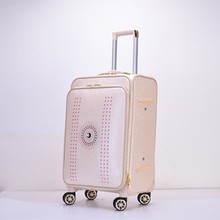 Nice Design PU makeup trolley case