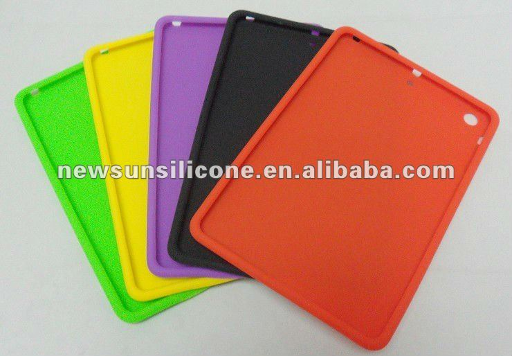"soft silicon Case for mini ipad 7"" hottest"