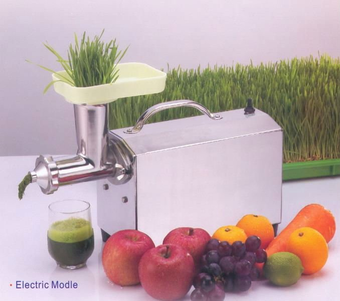 Electric Stainless Steel Wheatgrass Juicer