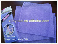 exfoliating nylon bath towels