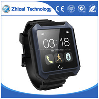 waterproof IP68 bluetooth smart wrist watch dustproof dropproof for android and IOS phones