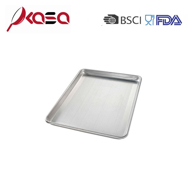 Full size Perforated Aluminum Sheet Cake Pan for bread baking