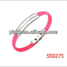 wholesale silicone id bracelet sports bracelets for men