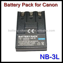 NB3L NB-3L Battery for Canon PowerShot SD500 SD550 SD100 SD20 SD10