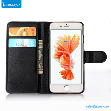 Custom Protective Mobile Smartphone Cover Wallet Leather Card Cell Phone Case For Iphone 6 6Plus