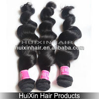 2014 6A Permanent Hair Extensions Malaysian human hair wavy wave, india remi hair, virgin indian permanent hair