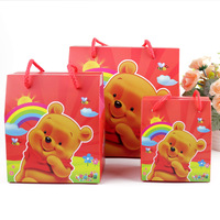 Manufacturers lovely packaging Latest Design paper party gift bags with ribbon handle