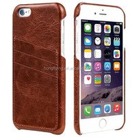 Slim mobile phone case for iPhone 6 card holder soft cover