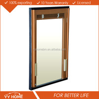 YY Home blind inside double glass window, casement,sliding, arched, fixed aluminium window manufacturer