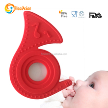 Promotional Gifts Item 2015 Baby Rattle, Baby Teething Toys Set, Silicone Teething Ring Toys For Kids/Baby In High Quality