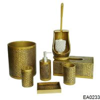 EA0233 gold classical fairy bathroom accessories