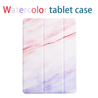 Wholesale Watercolor Leather Flip Tablet Case For iPad mini 2 3 4 Air 1 Pro 9.7 12.9