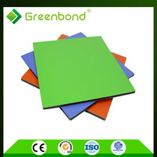 Greenbond high reliablity brush finish metal roofing Aluminum Composite Panel construction material