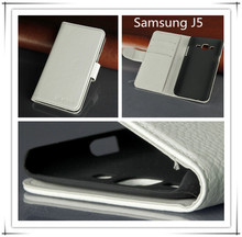 china factory free sample samrtphone leather case ,for samsung galaxy J5 phone accessory case