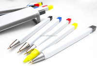 Hot sell 5in1suit pen Mechanical pencil Highlighter ballpoint pen Set mea constitute