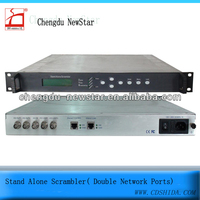 Stand Alone Scrambler( Double Network Ports)frequency video scrambler radio frequency scrambler