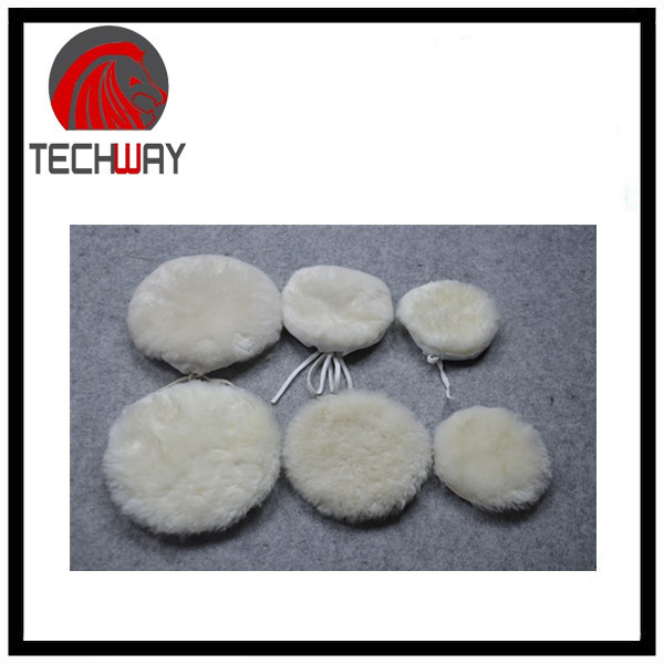 Wool Vehicle Car Detailing Buffing Polishing Pad