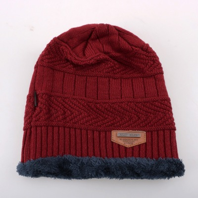 New design winter multicolor unisex knit wool hat
