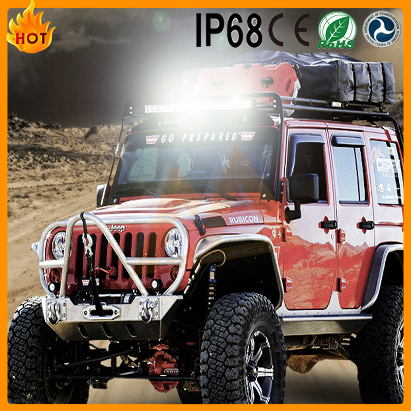 high power 4x4 light bar 180w auto led light bar Direct Supply rally led driving light bar 12v 72W 120W 180W for SUV,4WD
