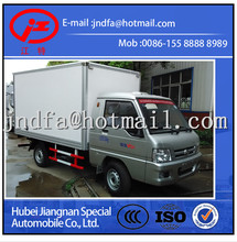 FOTON 4x2 foton small van trucks for sale