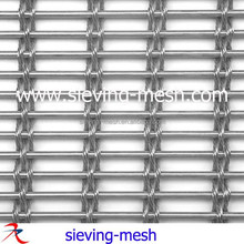 Stainless steel/brass exterior decorative wall panels/woven wire mesh metal fabrics