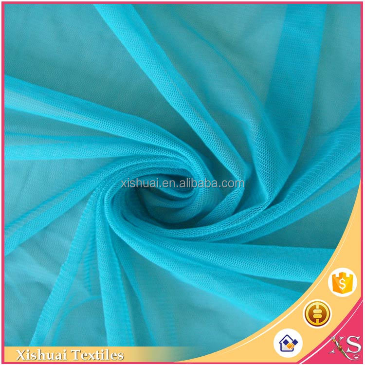 Latest designs Classical Soft Tulle knitted fabric dress