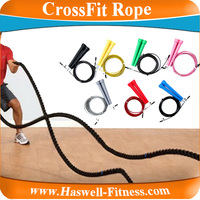 Fitness Crossfit jump speed rope / Manila Battle Rope