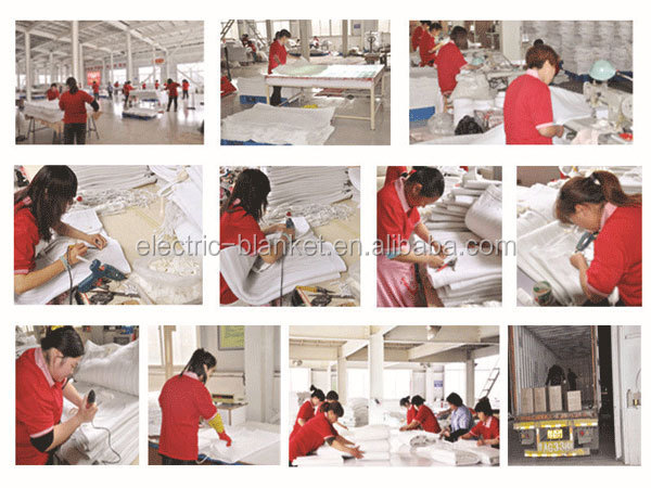 100 polyester Electric Heated Blanket wholesaler