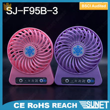Guangdong high quality low cost plastic cheap price table fan