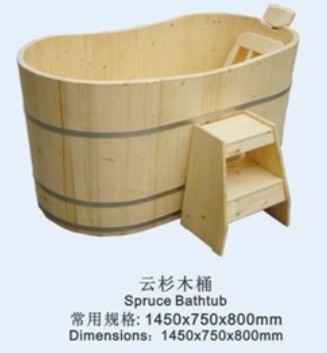 2015 low price large wood fired hot tub