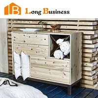 LB-AL5067 Cheap bedroom used wooden chest of drawer design
