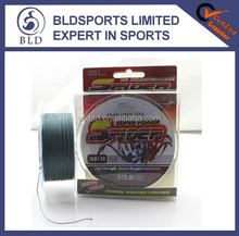 2015 Workable price new style wholesale high strength 300M PE braided fishing line