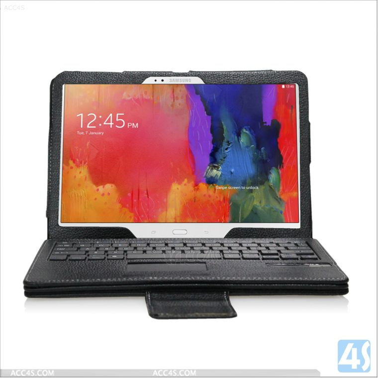 Alibaba in Russian Bluetooth Keyboard Case with Touchpad for Samsung Galaxy Tab Pro 10.1 T520 P-SAMT520PUKB002