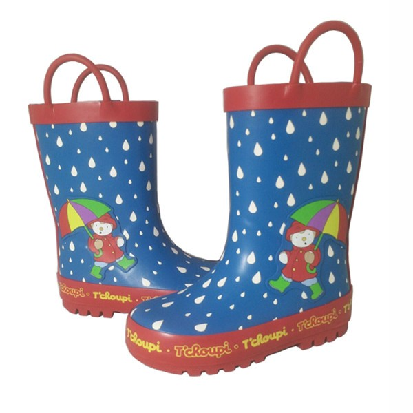 Child Favorite Cute Waterproof Half Rubber Rain Boots