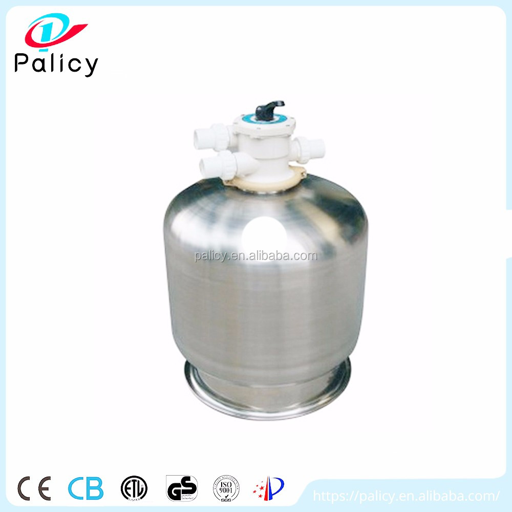 Latest new design quality assurance stainless steel water filter tank